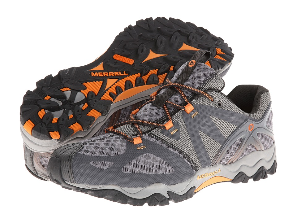 Merrell Grassbow Air (Dark Grey/Orange) Men