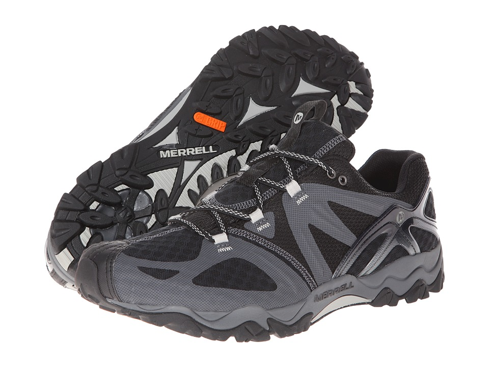 Merrell Grassbow Air (Black/Silver) Men