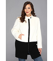 Calvin Klein - Plus Size Jacket w/ Sweater Trim