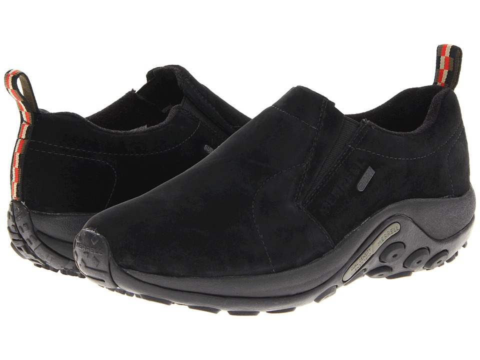 Merrell Jungle Moc Waterproof (Black) Men's Shoes