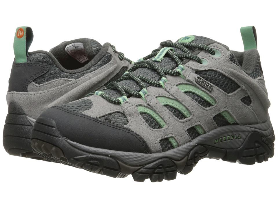 Merrell Moab Waterproof (Drizzle/Mint) Women's Shoes