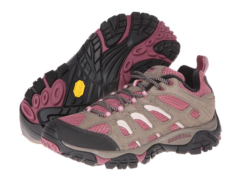 Merrell - Moab Ventilator (Boulder/Blush) Womens Cross Training Shoes