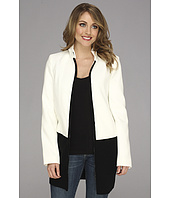 Calvin Klein - Melton Jacket w/ Sweater Trim