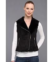 Calvin Klein - Faux Shearling Vest w/ Zip