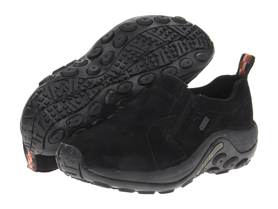 Merrell - Jungle Moc Waterproof (Black) Womens Shoes