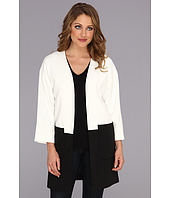 Calvin Klein - Colorblock Open Ponte Jacket