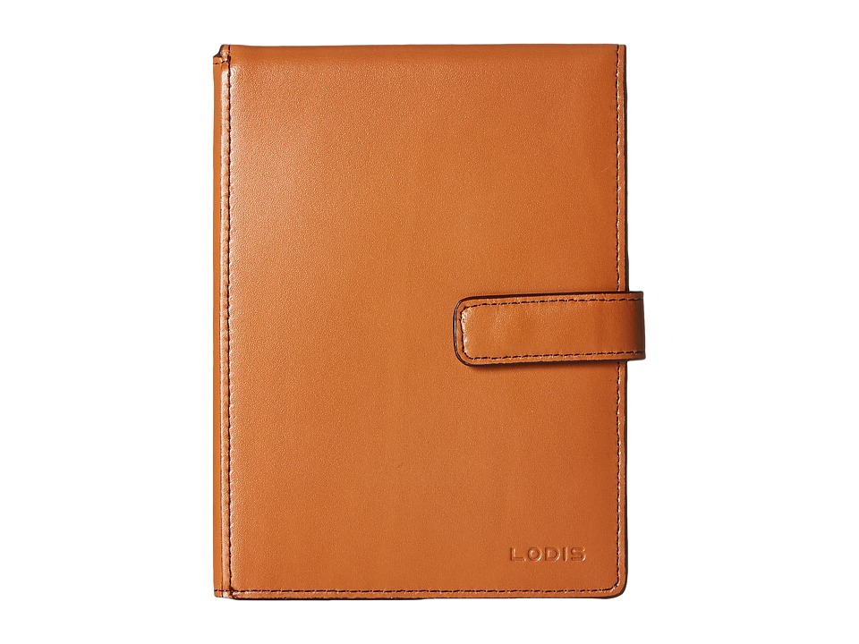 Lodis Accessories - Audrey Passport Wallet w/ Ticket Flap (Toffee) Checkbook Wallet