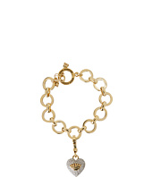 Juicy Couture - Charming Luxuries Pave Heart Starter Charm Bracelet