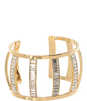 Juicy Couture - Shining Statements Crystal Baguette Open Cuff Bracelet