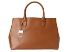 LAUREN Ralph Lauren - Newbury Double Zip Satchel (Lauren Tan)