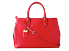 LAUREN Ralph Lauren - Newbury Double Zip Satchel (Red)
