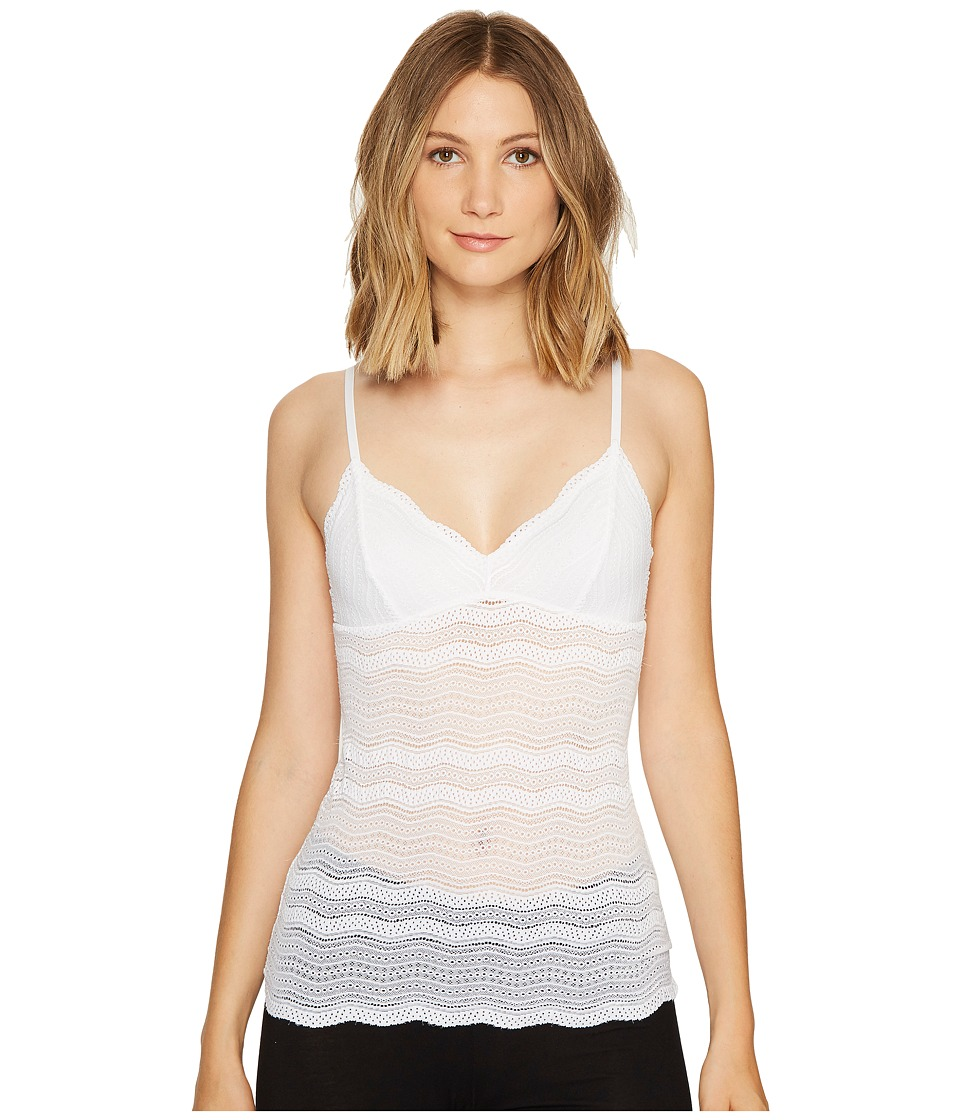 Cosabella Dolce Long Camisole (White) Women's Lingerie