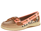 Sperry Top-Sider - Angelfish (Linen/Peach Pink/Leopard) - Footwear