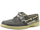 Sperry Top-Sider - Rainbow Slip-on Boat Shoe (Black/Patent) - Footwear
