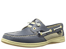 Sperry Top-Sider - Rainbow Slip-on Boat Shoe (Navy/Patent) - Footwear