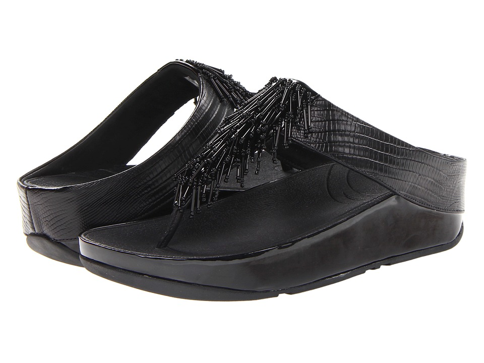 FitFlop Cha Cha (Black) Women
