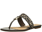 Sperry Top-Sider - Carlin (Leopard Pony/Brown Patent) - Footwear