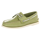 Sperry Top-Sider - A/O 2-Eye Free Time (Green) - Footwear