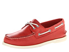 Sperry Top-Sider - A/O 2-Eye Free Time (Red) - Footwear