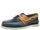 Sperry Top-Sider - A/O 2 Eye Cyclone (Dark Blue/Tan) - Footwear