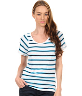 Marc by Marc Jacobs - Light Stripe Jersey Top