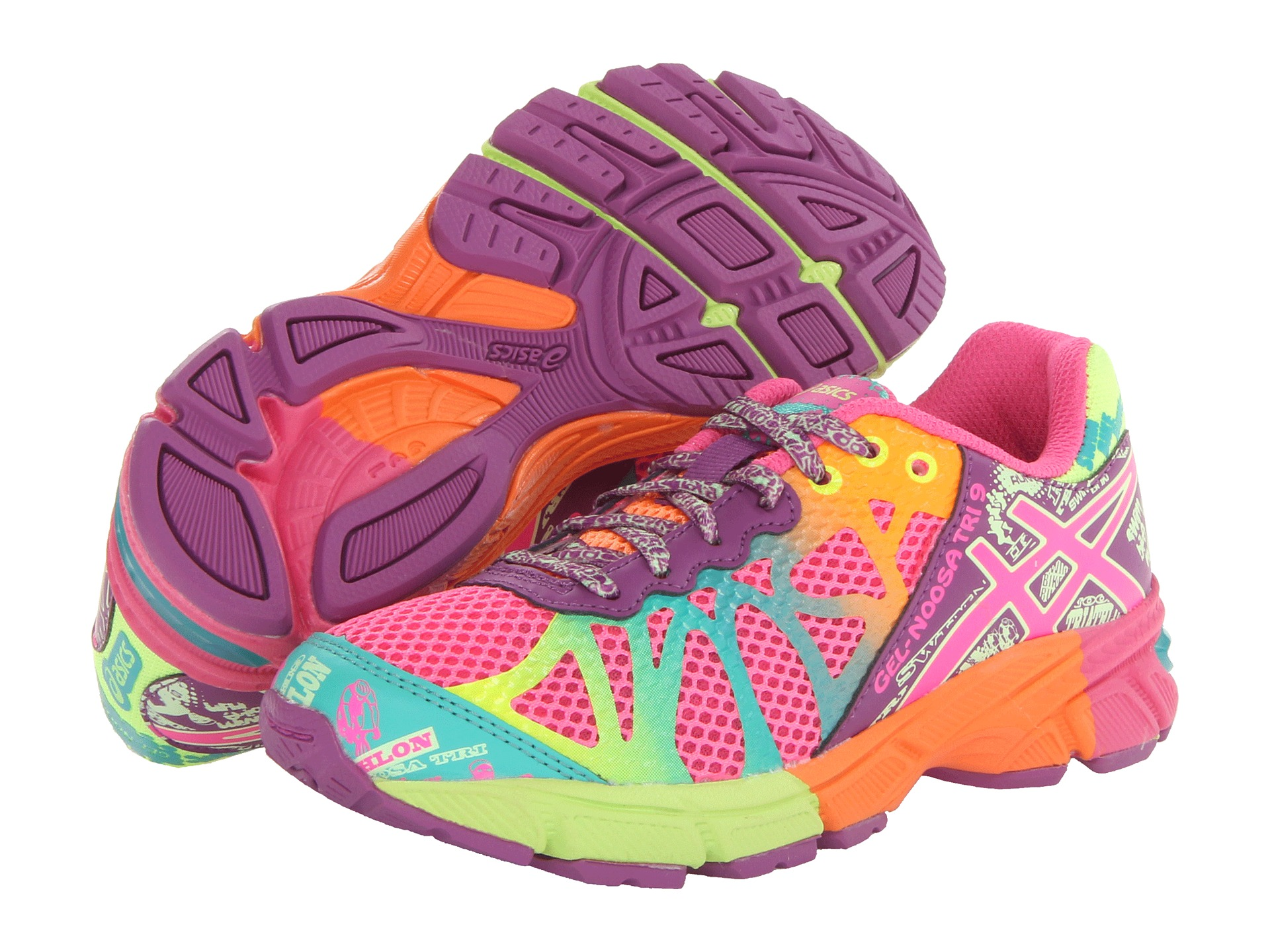 asics gel noosa tri 9 kids athletic shoes