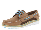 Sperry Top-Sider - Billfish Ultralite 3 Eye (Tan/Blue) - Footwear