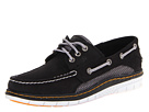 Sperry Top-Sider - Billfish Ultralite 3 Eye (Black/Orange) - Footwear