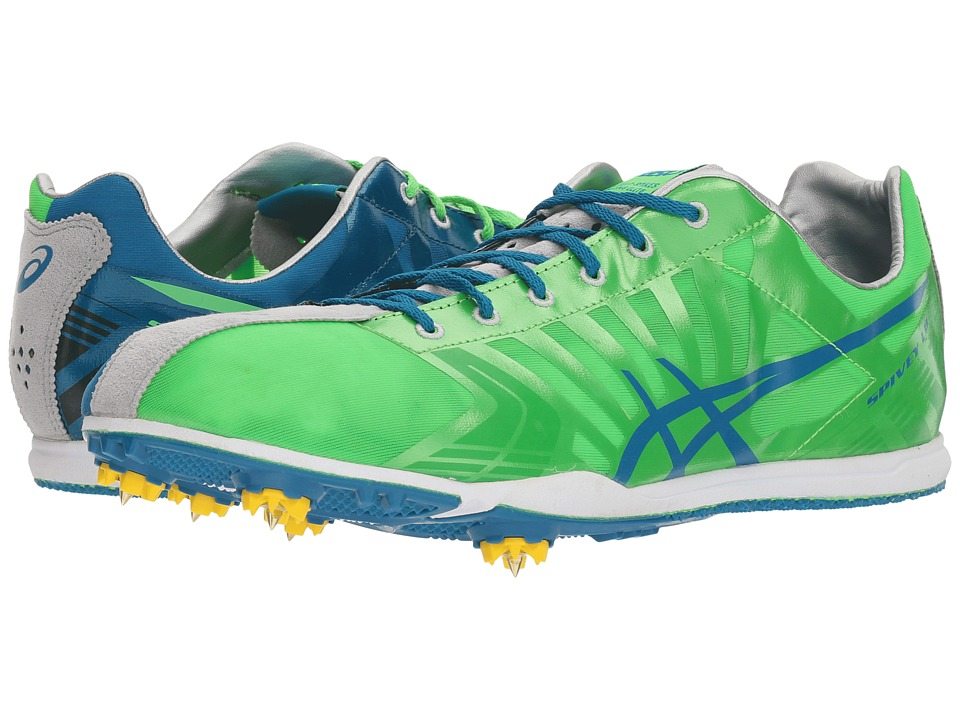 ASICS - Spiveytm LD (Neon Green/Malibu/Quick Silver) Mens Running Shoes