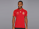 adidas - Spain Home Replica Tee (Victory Red/Light Football Gold) - Apparel