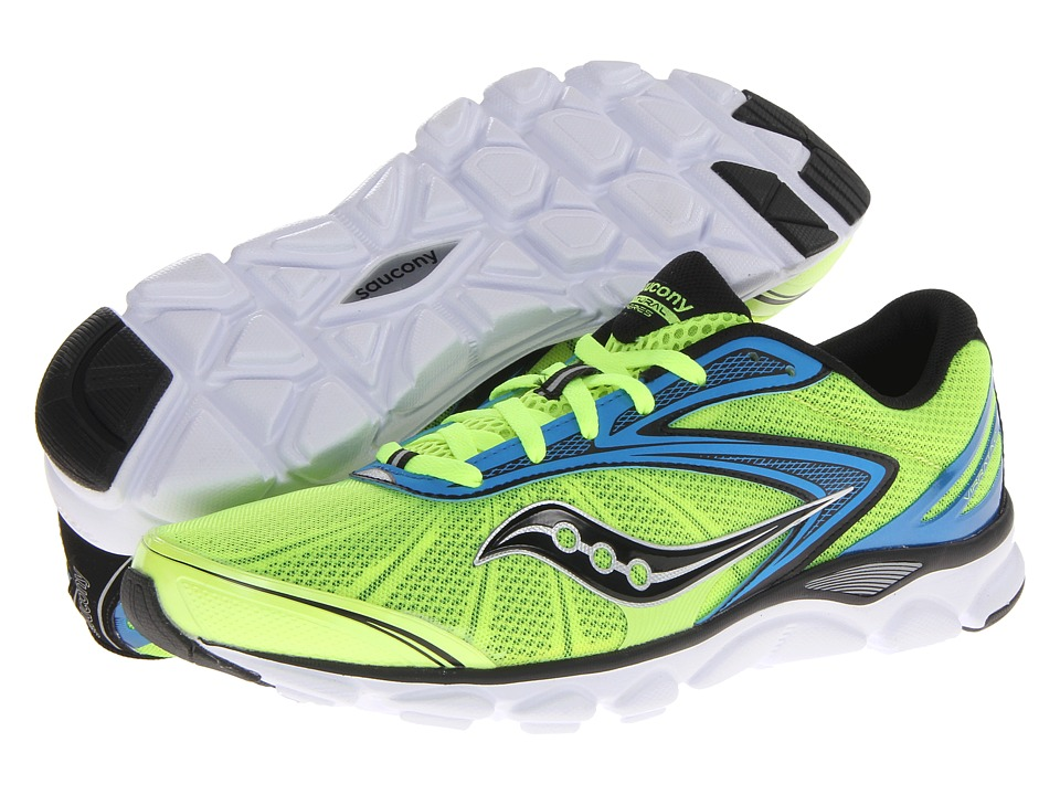 Saucony Virrata 2 (Citron/Blue) Men's Shoes