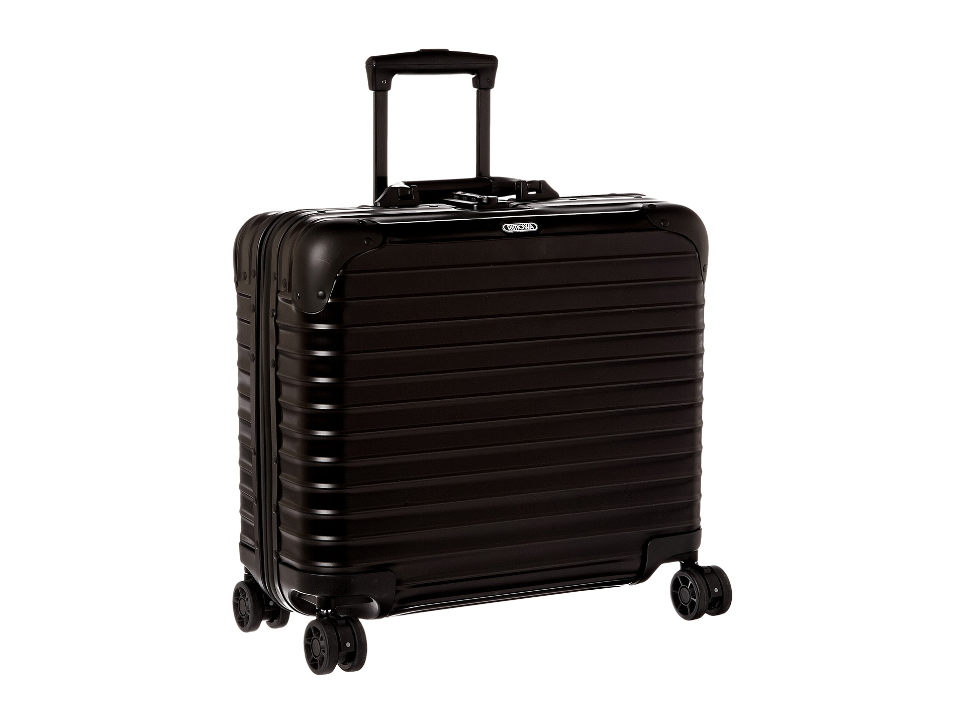 rimowa topas stealth business multiwheel free shipping both ways. Black Bedroom Furniture Sets. Home Design Ideas
