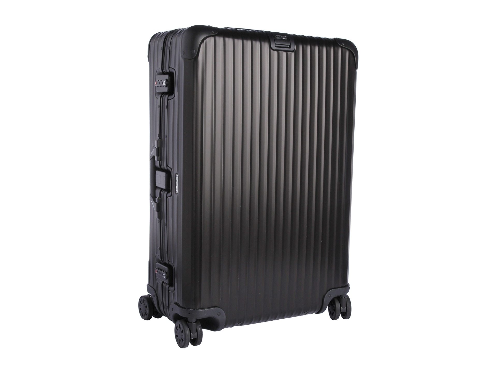 rimowa topas stealth 29 multiwheel free shipping both ways. Black Bedroom Furniture Sets. Home Design Ideas