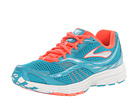 Brooks - Launch (Caribbean/Silver/Fiery Coral) - Footwear
