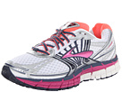 Brooks - Adrenaline GTS 14 (White/Fuschia/Midnight) - Footwear