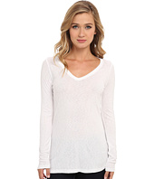 Michael Stars - Slub Long-Sleeve V-Neck Tee