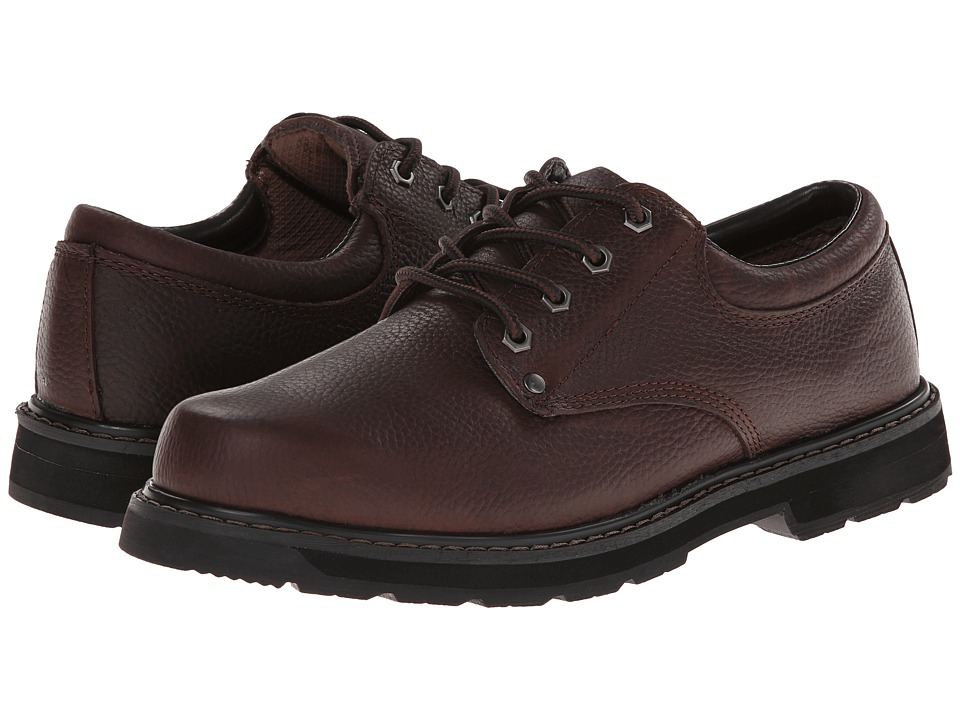 Dr. Scholls Harrington Brown Leather Mens Lace up casual Shoes