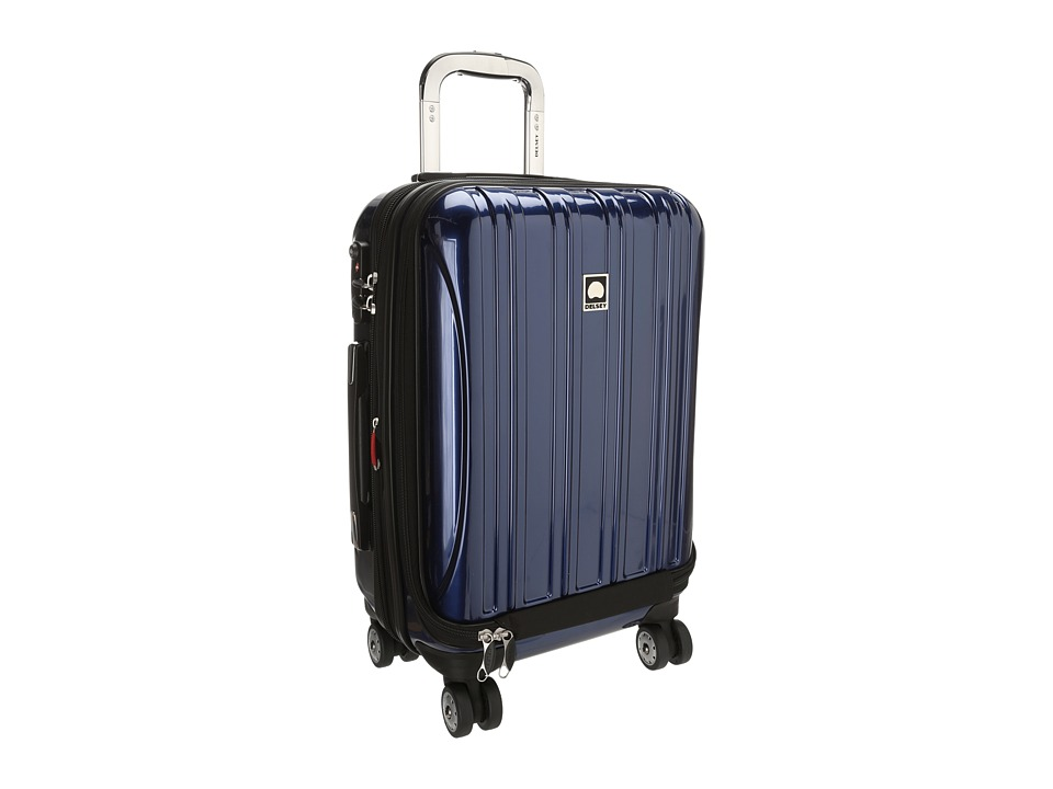 Delsey - Helium Aero - 19 International Carry-On Expandable Trolley (Blue) Carry on Luggage