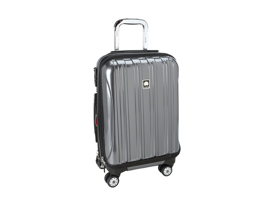 Delsey - Helium Aero - 19 International Carry-On Expandable Trolley (Platinum) Carry on Luggage
