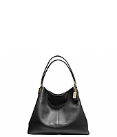COACH - Madison Phoebe Leather Shoulder Bag