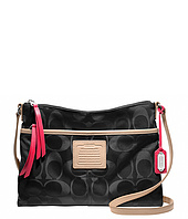 COACH - Legacy Weekend Signature Nylon Hippie