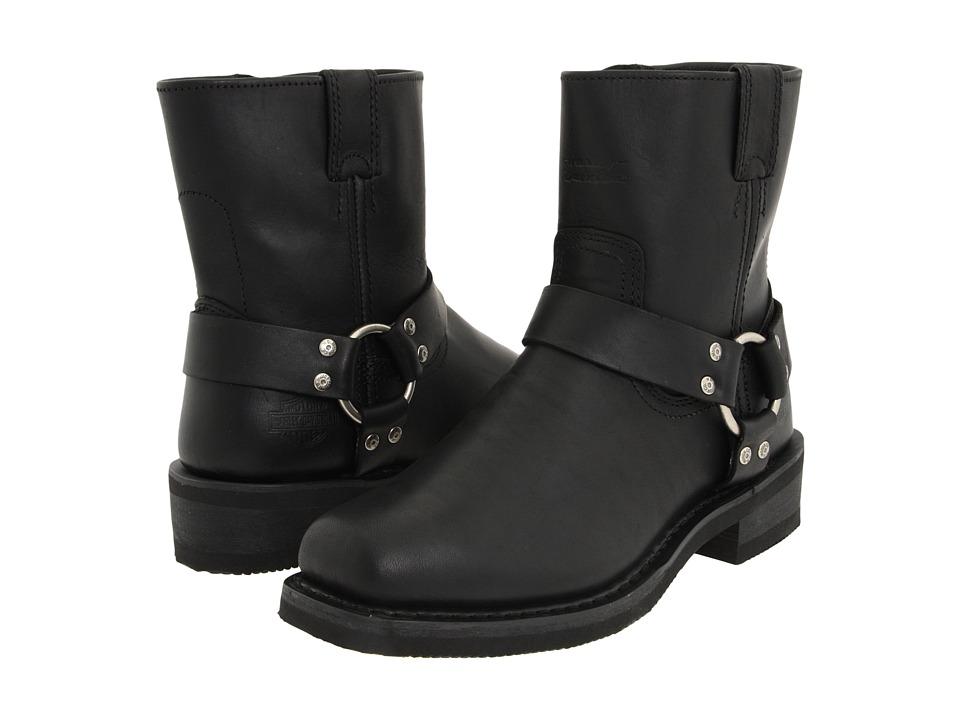 Harley-Davidson - El Paso (Black) Mens Work Zip Boots