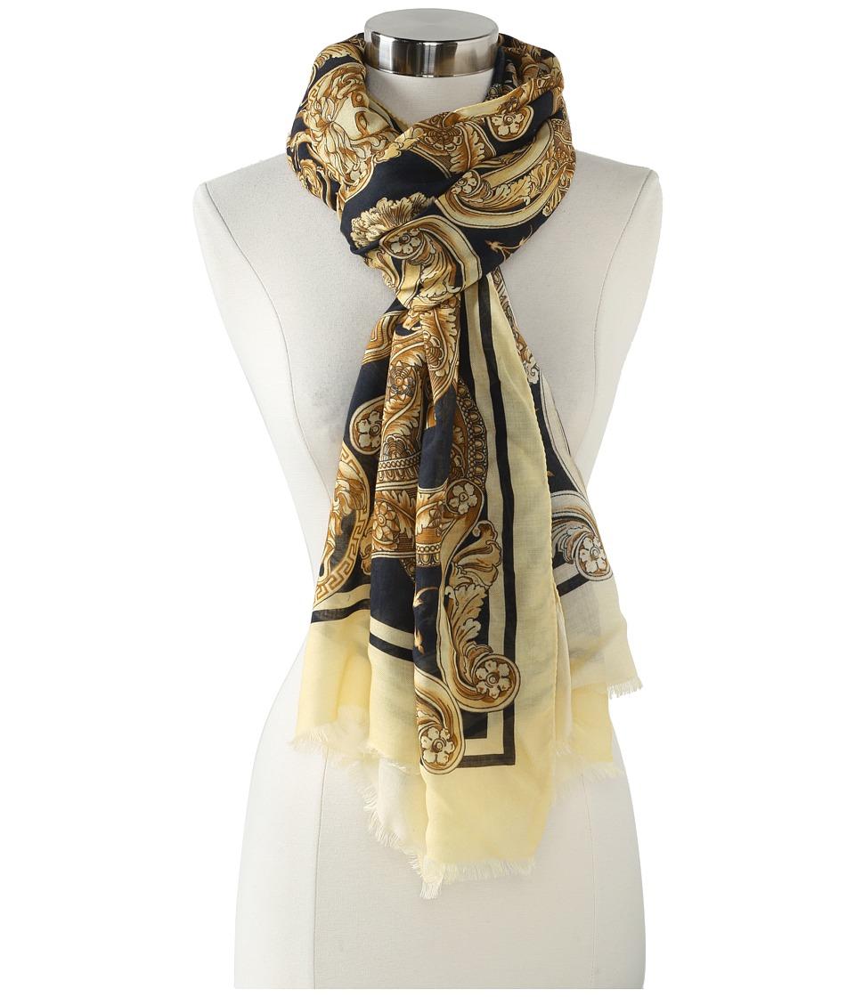 Versace Alda Shawl (Cream) Scarves