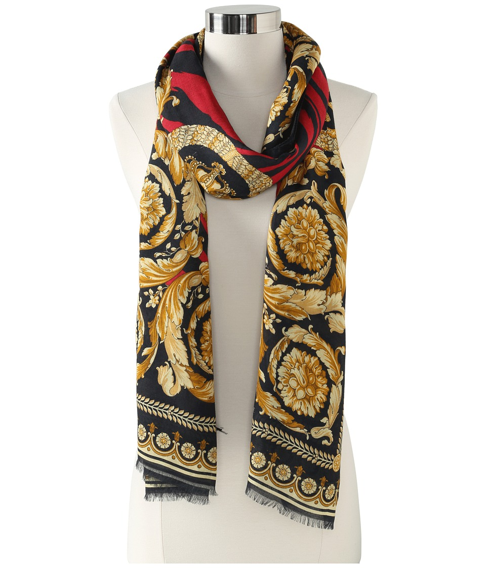 Versace Celestina Shawl (Red) Scarves