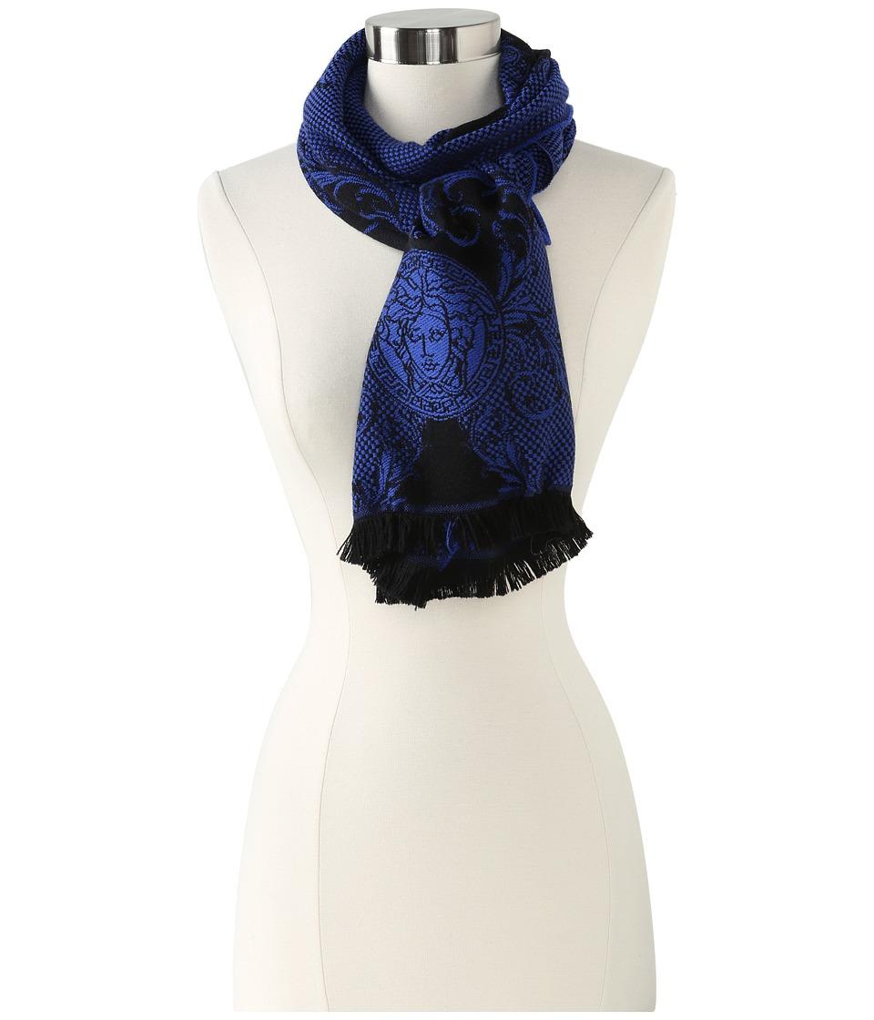 Versace Calogera Shawl (Blue) Scarves