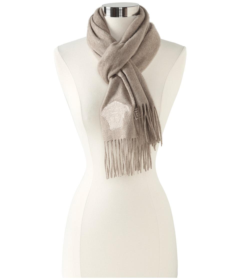 Versace Ferdinanda Shawl (Oatmeal) Scarves