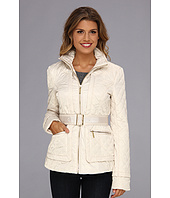 Ivanka Trump - Belted Quilt Jacket
