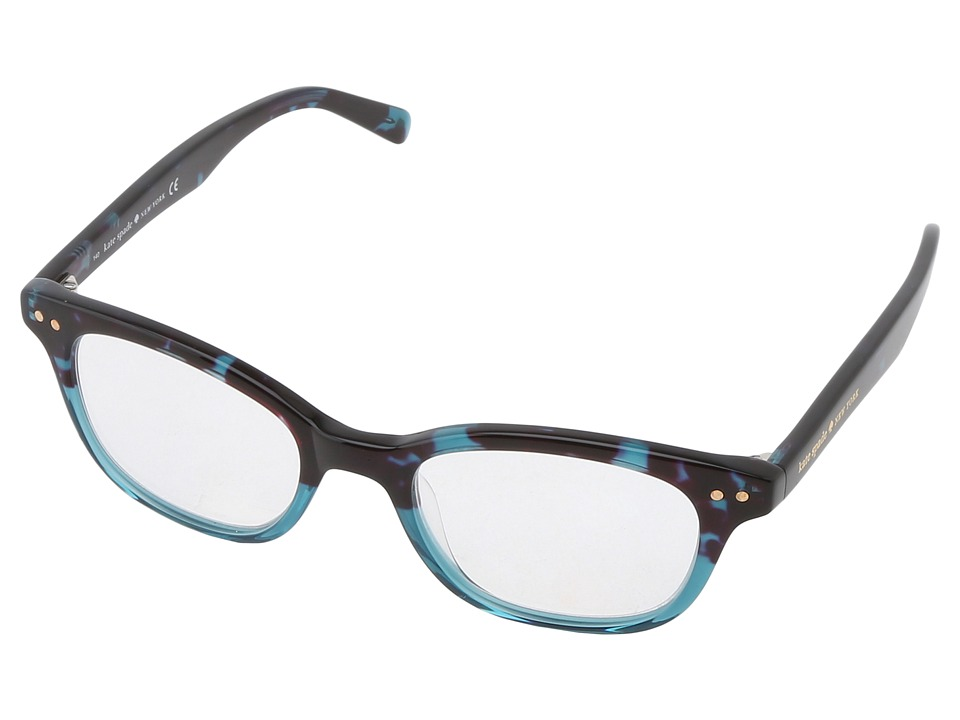Kate Spade New York - Rebecca (Sky Blue Tortoise) Reading Glasses Sunglasses