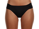 LAUREN Ralph Lauren Laguna Solid Shirred Tab Hipster Bottom
