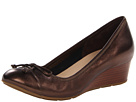 Cole Haan - Air Tali Lace Wedge (Dark Copper Metallic) - Footwear